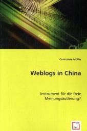 Weblogs in China