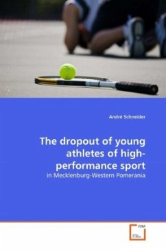 The dropout of young athletes of high-performance sport - Schneider, André