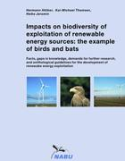 Hötker, Hermann;Thomsen, Kai-Michael;Jeromin, Heike: Impacts on biodiversity of exploitation of renewable energy sources: the example of birds and bats