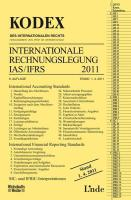 KODEX Internationale Rechnungslegung IAS/IFRS