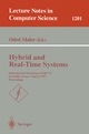 Hybrid and Real-Time Systems - Oded Maler