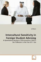 Intercultural Sensitivity in Foreign Student Advising